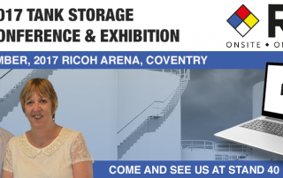 RTS exhibiting at 2017 Tank Storage Conference & Exhibition