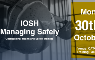 IOSH Managing Safely 30th October special offer