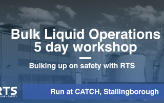 Bulk Liquid Operations' 5 day workshop