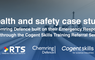 Health and safety case study: Chemring Defence