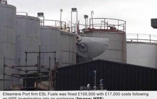 Outdated permit to work found in Stanlow tank explosion