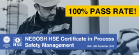 100 Percent Pass Rate for NEBOSH HSE