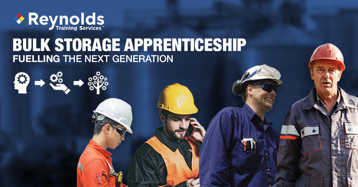Bulk liquid storage apprenticeship: fuelling the next generation