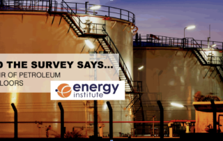 Survey Energy Institute seeks industry input on above-ground petroleum storage tanks