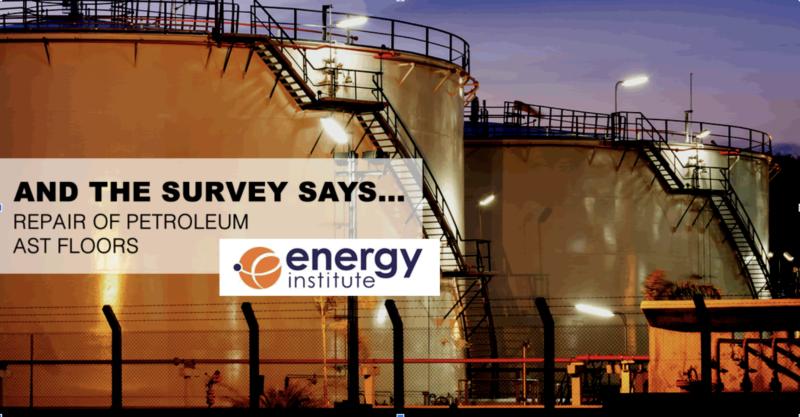 Survey Energy Institute seeks industry input on above-ground petroleum storage tanks