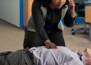 Be prepared for emergency first aid situations at work