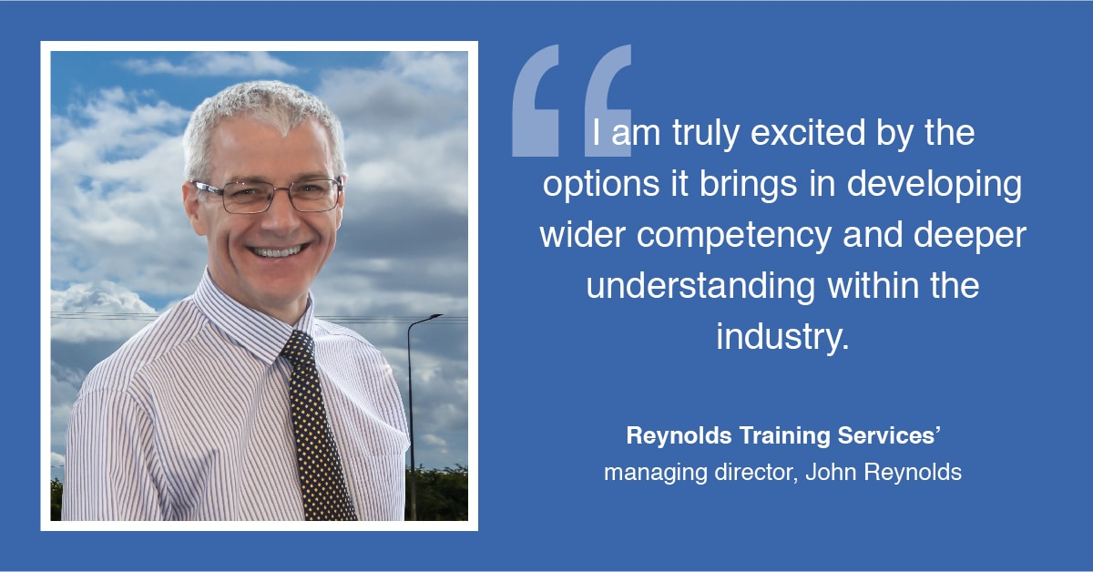 John Reynolds of Reynolds Training Services Announces £150k Investment in Humber Region