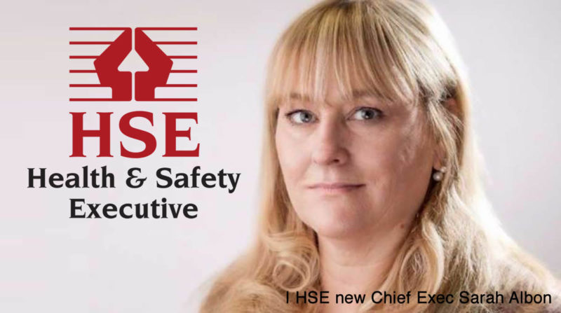 Reynolds Training - HSE appoints new Chief Exec - Sarah Albon