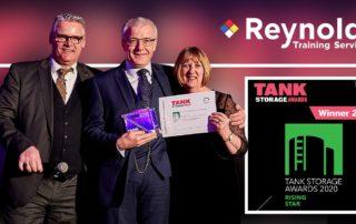 Reynolds-Training-TSA-Awards-Rising-Star-winner