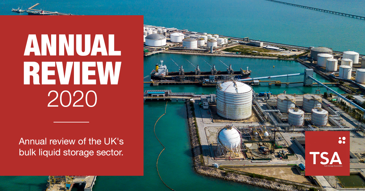 TSA releases annual review of UK bulk liquid storage sector