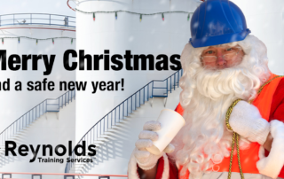 A healthy and safe(ty) Christmas from Reynolds Training